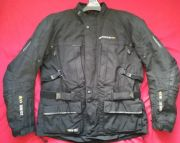 BIKERS SUZUKA GORETEX CORDURA VENTED TEXTILE JACKET UK 46 48 chest XXL